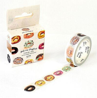 NEW Design 15mm×7M DYI paper Sticky Adhesive Sticker Decorative Washi Tape G#41
