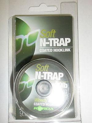 Korda N Trap Soft Coated hooklink 20m ALL VARIETIES Fishing