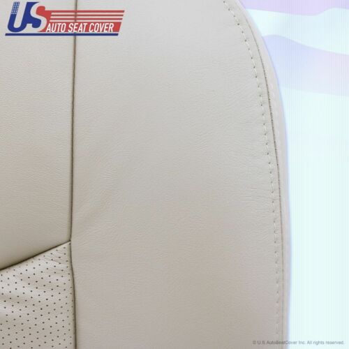2003 2004 2005  Cadillac Escalade Driver Side Bottom Leather Seat Cover Tan #152