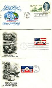USA-FDC-First-Day-Cover-Airmail-Stamps-Postage-Post-Card-Hawaii-Cancellation