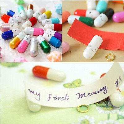 Fancy Cute Expression 50 Pcs Popular Special Love Capsule Cute Letter Pills
