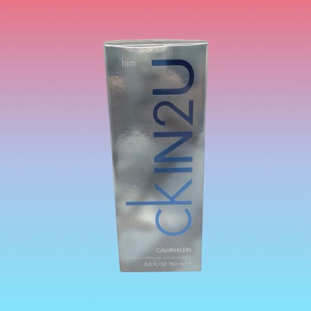 CALVIN KLEIN CKIN2U Men's Eau De Toilette Spray 150 mL NEW SEALED Free Shipping