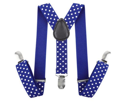Y-Back Adjustable Elastic Suspenders for Kids Boys