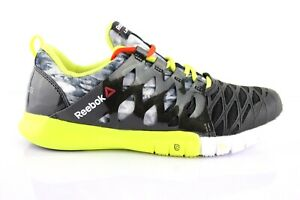 Details about Reebok ZRX Tr Ladies Running Shoes Sports Trainers Fitness Run Black Yellow