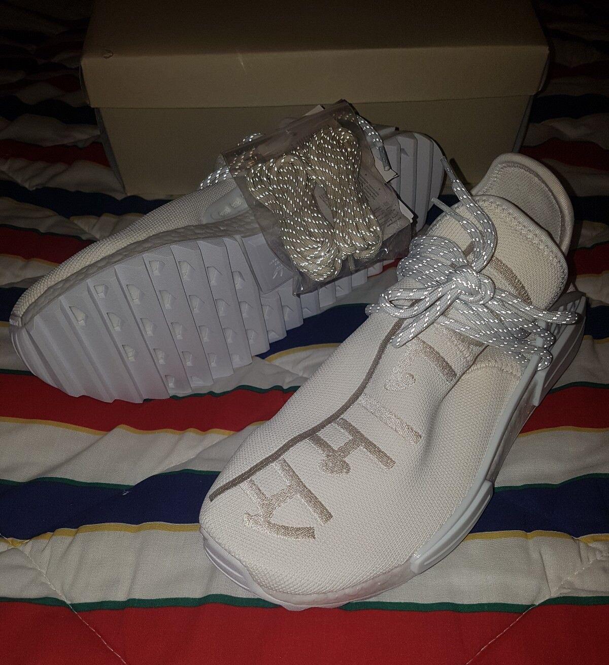 Adidas Pharrell Williams Human Race Holi NMD Blank Canvas Size US10 Cream AC7031