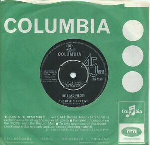 Dave Clark Five (The):Bits and Pieces/All of the time:UK Columbia:1964