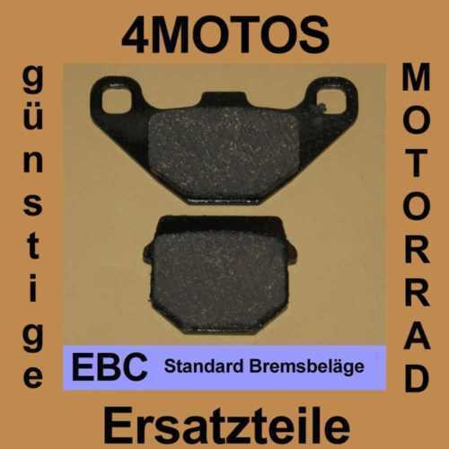Bremsbeläge EBC Suzuki RM 80 hinten
