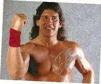Tito Santana signed 8x10. wwf hof auto autographed photo wrestling wwe wwf pic