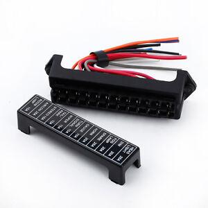 Fuse Box Block Holder 8 way Circuit Automotive Car Boat Blade ATC ATO 12V-32V