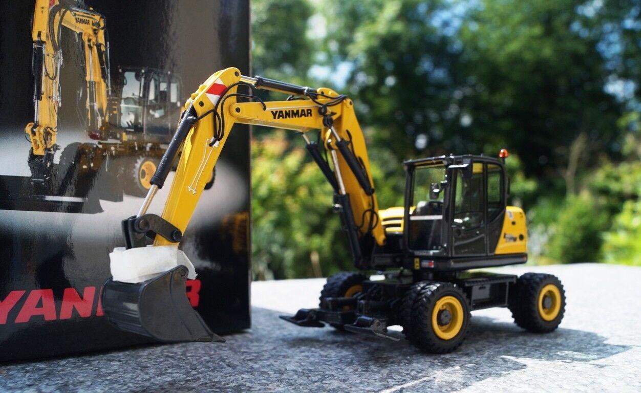 NZG Yanmar b110w mobile Excavateurs Scale 1 50 neuf neuf dans sa boîte