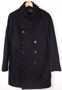 Filippa K Herren Wolle Polyamid Mantel Jacke Mantel Größe 46 (M) BCZ316