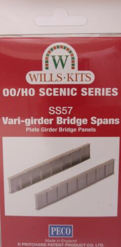 00 Gauge Vari-Girder Wills SS57 Kit NEW