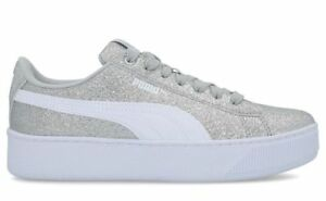 PUMA VIKKY PLATFORM GLITZ JR women s shoes sneakers leather suede ... c37710a01