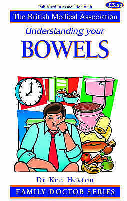 """""""AS NEW"""" Understanding Your Bowels (Family Doctor Series), Heaton, K. W., Book"""