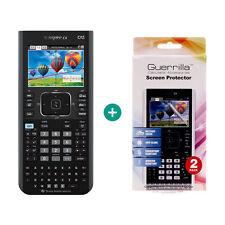 TI Nspire CX CAS Taschenrechner Grafikrechner + Displayschutzfolie