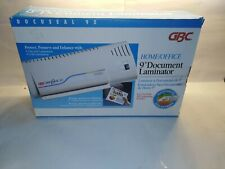 Gbc Docuseal95 Laminator Machine Hot Cold Foil Documents Docuseal 9 J9