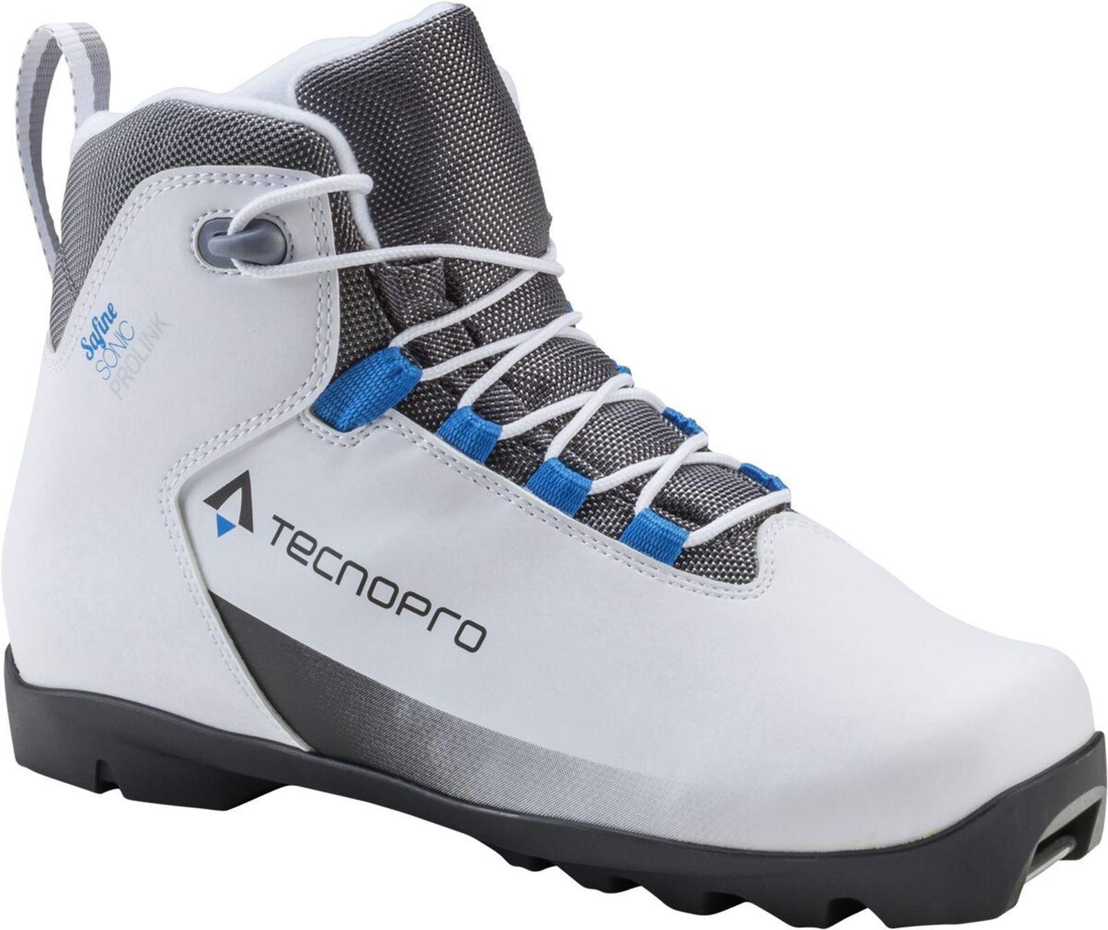Tecno  pro Ladies cross Country Ski Boots Safine Sonic Prolink Nnn Binding White  sale online save 70%