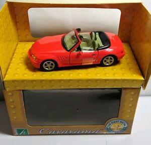 Cararama-1-43-Diecast-BMW-Z3-Convertible-red-250-en-Caja