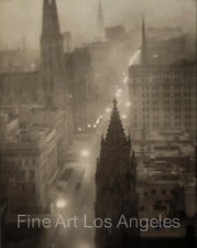 "Alvin Langdon Coburn Photo, ""Fifth Avenue from the St. Regis"" 1905"