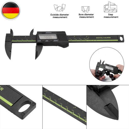 ±0,1 LCD Digitaler Meßschieber Messschieber Schieblehre 0-150mm Mit Auto ON//OFF