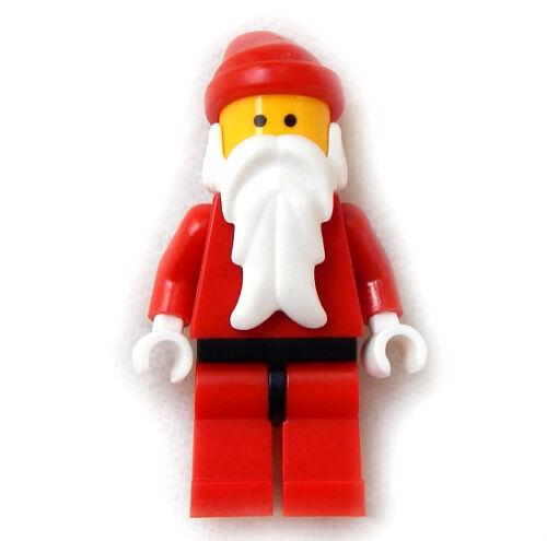 NEW LEGO SANTA CLAUS MINIFIG Christmas minifigure figure person holiday advent