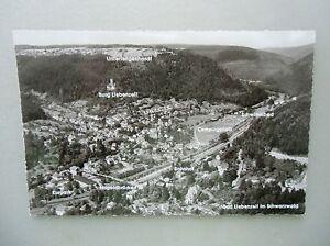 Ansichtskarte-Bad-Liebenzell-im-Schwarwald-50-60er-Luftbild