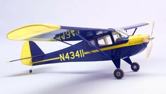 Taylorcraft Dumas Electric R  C Balsa trä modellllerler Airplan Kit