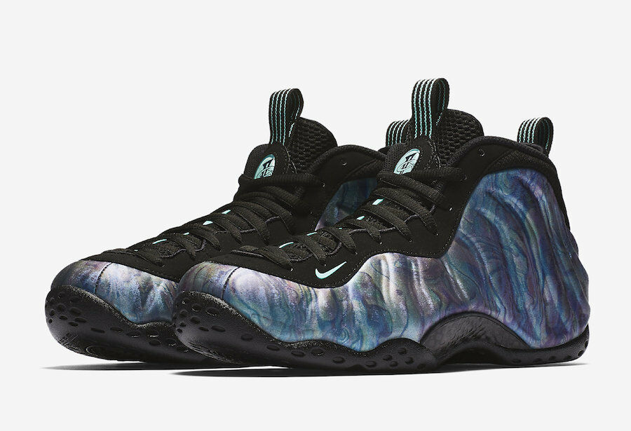 Nike MEN'S Air Foamposite One Premium ABALONE SIZE 10 BRAND NEW