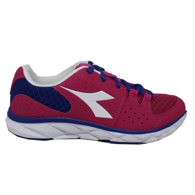 Diadora Scarpa Running Sneaker Jogging Donna Hawk 7 Shocking Pink ... c1bdb9b0cbc