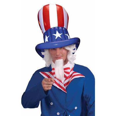 2019 Nuovo Stile Patriottici Gonfiabile Cilindro Bandiera Stelle Strisce Usa Stati Uniti America Elevato Standard Di Qualità E Igiene