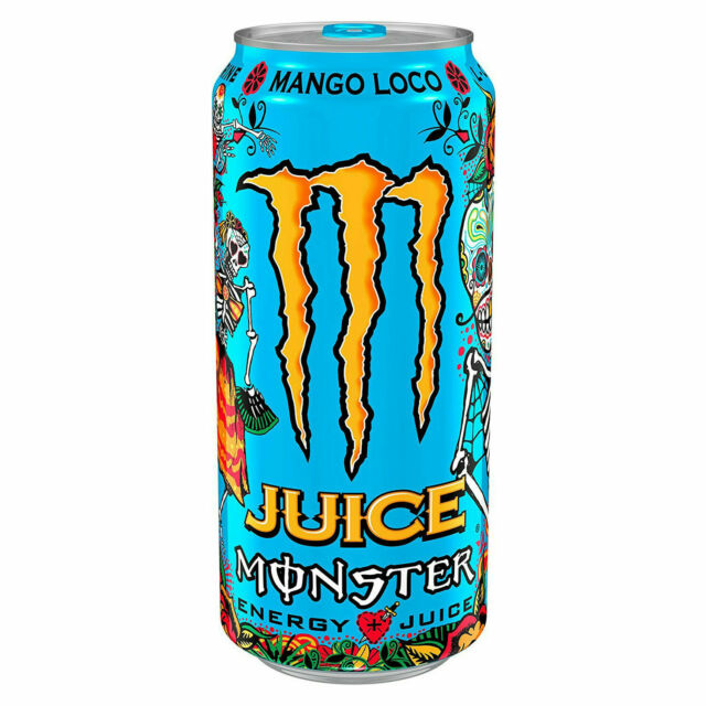 Monster 16 Ounce Mango Loco Energy Drink Pack Of 24