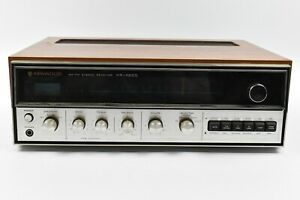 Kenwood-KR-4200-AM-FM-Stereo-Receiver-ALL-CHANNEL-A-SPEAKERS-ARE-NOT-WORKING