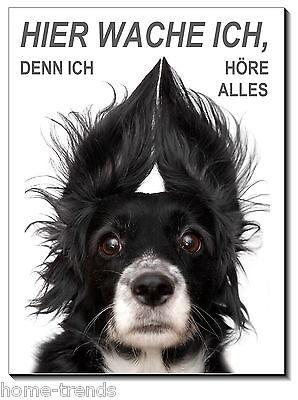 Haustierbedarf Mischling-hund-aluminium-schild-0,5-3 Mm Dick-türschild-warnschild-hundeschild Sparen Sie 50-70%