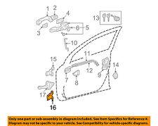 GENUINE TOYOTA CAMRY SCION LEXUS FRONT LOWER PASSENGER DOOR HINGE OEM 6873033021