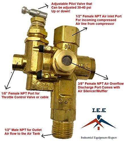 Air Compressor Replacement Parts >> Air Compressor Replacement Parts Pilot Check Valve Unloader