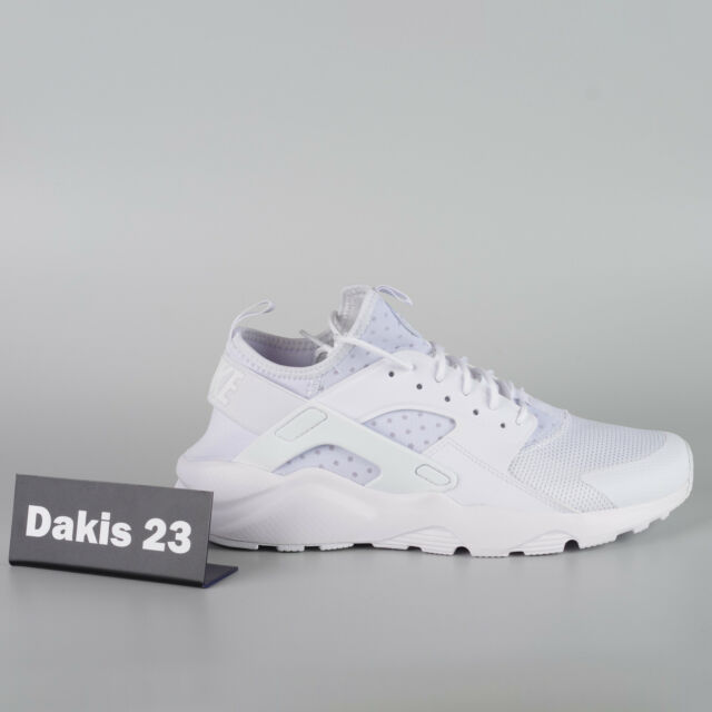 Nike Air Huarache Run Ultra Mens Running Shoes Size 11 Triple White 819685 101