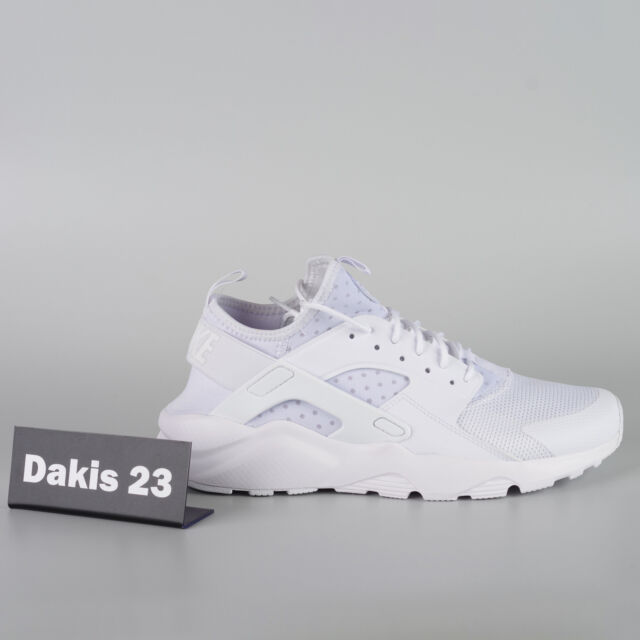 0766670618be Nike Air Huarache Run Ultra Men Lifestyle Sneakers Shoes New White  819685-101