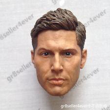 "1/6 scale Head Sculpt Supernatural Dean Winchester Jensen Ackles fit 12"" body"