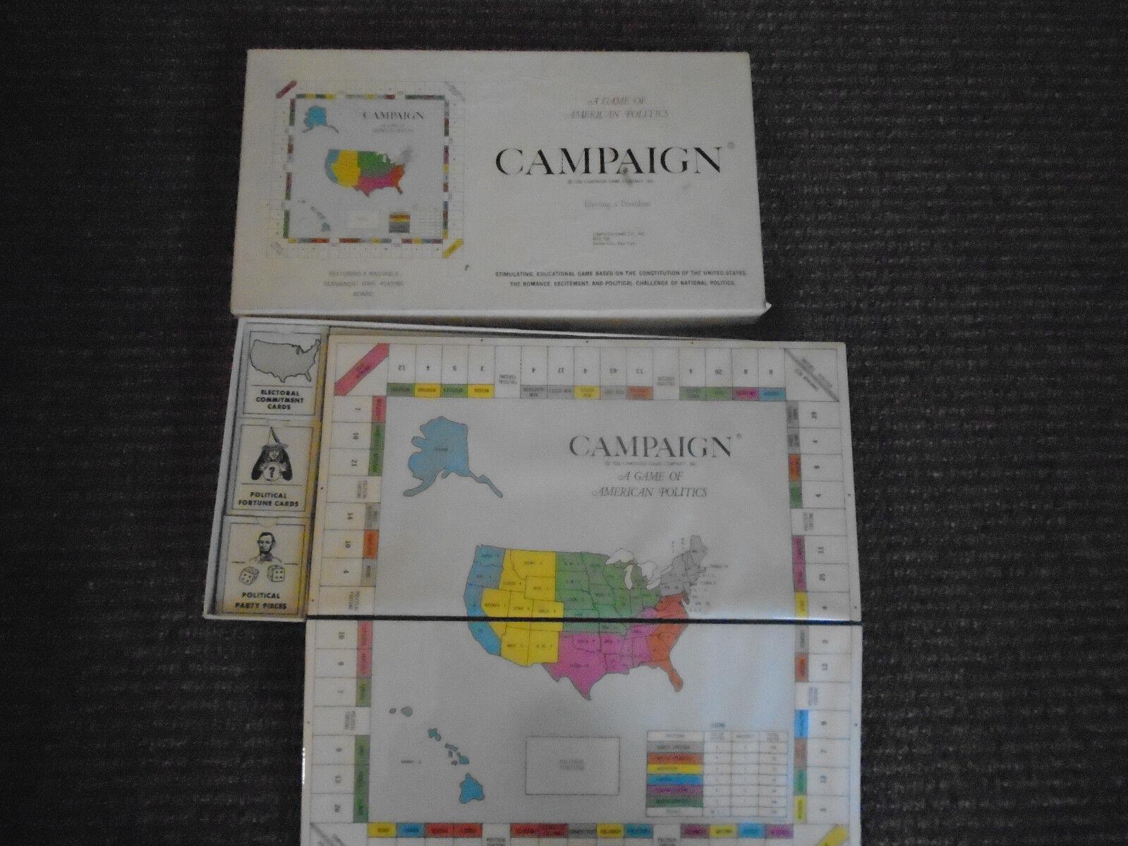 Campaign a game of american politics