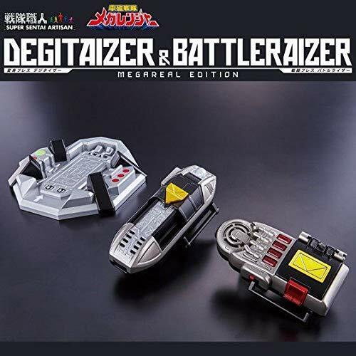 Super Sentai Artisan degitaizer & battleraizer megareal edición EMS con seguimiento