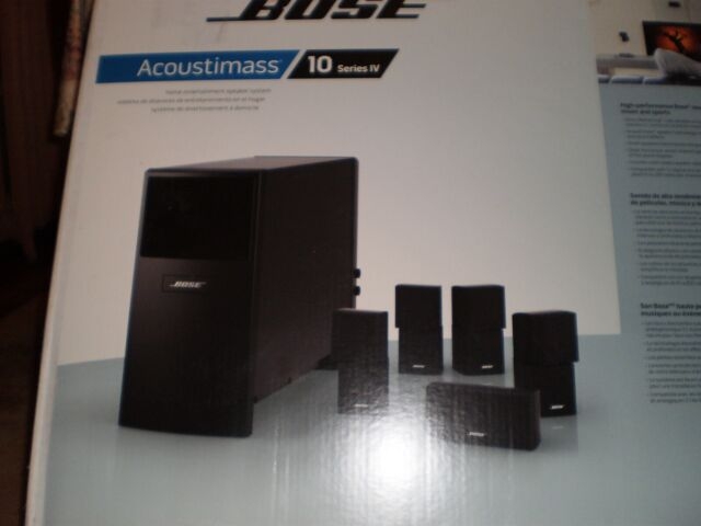 Bose Acoustimass 3 Series IV Speaker System Wires-superb Sound for sale  online | eBayeBay