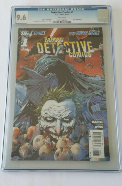 Detective Comics #1, New 52, CGC 9.6, DC, 2011