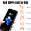 thumbnail 6 - 8000mAh Battery Charger Case Power Bank Cover For iPhone 6 6s 7 8 Plus SE Black