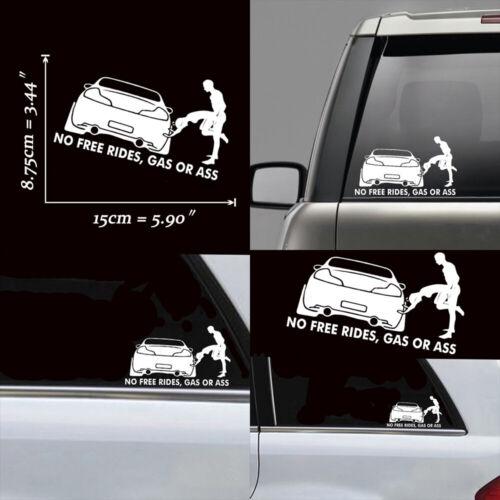 JDM Cute Car Sticker Lower Truck Boat Window Bumper Vinyl Applique Waterproof YM