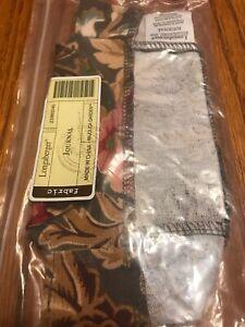 Longaberger-Journal-Basket-Majolica-Garden-Fabric-OE-Liner-Only-New