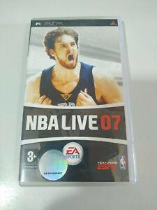 NBA Live 07 Pau Gasol EA SPORTS - Set PLAYSTATION Psp Ausgabe Spanisch - 2T