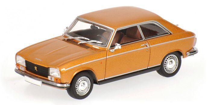 Peugeot 304 Coupe' 1970 oro oro oro Metallic 1 43 Model MINICHAMPS 33a97e