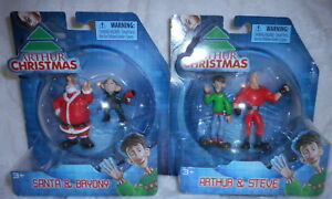 Arthur Christmas Characters.Details About Arthur Christmas Santa Bryony Arthur Steve Set Of 4 Figures New Age 3 Up