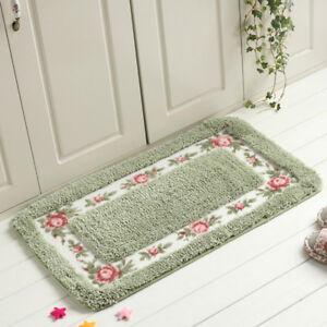 Details about 5 Colors Bedroom Carpet Kitchen Bathroom Anti-Slip Mats Floor  Rugs Door Mats Hot