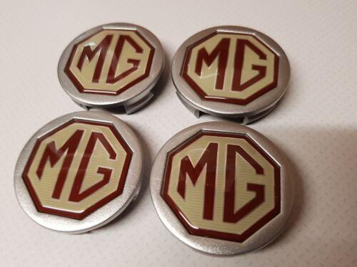 nuevo Original MG Aleación Centro De Rueda Caps 56 Mm x cuatro MGZT MGZTT